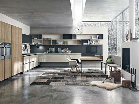 cuisines alno cuisine moderne bois et couleur
