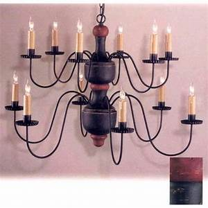 Wrought Iron Two Tier Chandelier   Bellacor