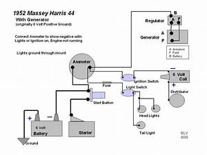 Massey Harris 22  Wiring Diagram