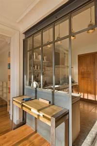 la verriere dans la cuisine 19 idees photos With charming quelle couleur dans les wc 6 quelle couleur deco pour agrandir une petite salle de bain