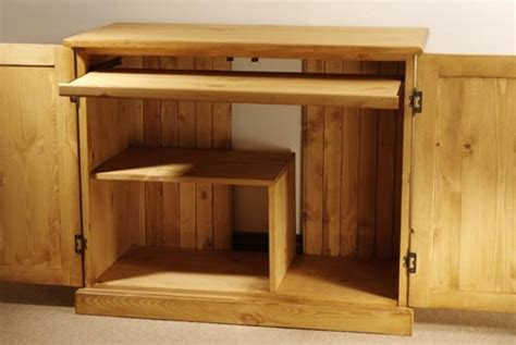 small pine computer desk mottisfont painted pine computer cupboard