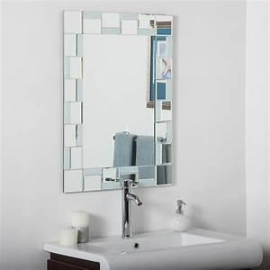 D, U00e9cor, Wonderland, Quebec, Modern, Bathroom, Wall, Mirror, -, 24w, X, 32h, In