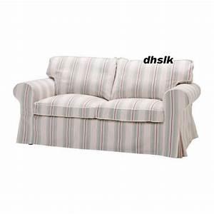 Ikea Bezug Sofa : ikea ektorp 2 seat sofa cover sigsta pink stripes bezug ~ Michelbontemps.com Haus und Dekorationen