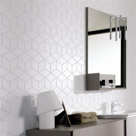 cube white home tiles   kitchen wall tiles