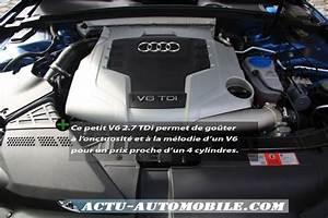 Fiabilité Moteur 2 7 Tdi Audi : essai audi a5 sportback 2 7 tdi 190 ambition luxe conduire budget actu automobile ~ Maxctalentgroup.com Avis de Voitures