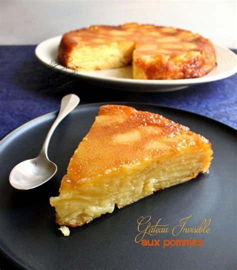 eryn folle cuisine gâteau invisible aux pommes il était une fois la pâtisserie