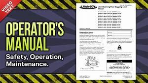 Operator U0026 39 S Manual  Lawn Rear Bagging