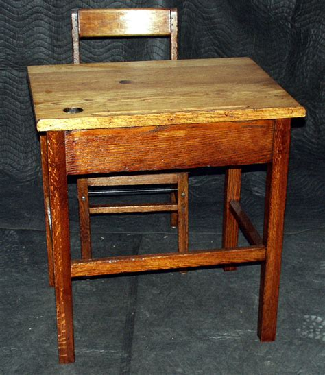 Vintage School Desk Restoration by Artisans Of The Valley Restoration Gallery Golden Oak Page 2