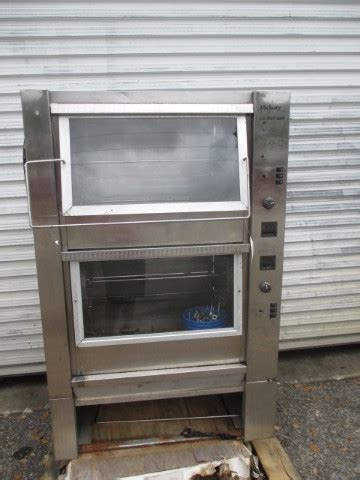hickory  double stack electric rotisserie oven
