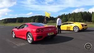 Ferrari Vs Lamborghini : ferrari 360 modena vs lamborghini gallardo drag race accelerations youtube ~ Medecine-chirurgie-esthetiques.com Avis de Voitures