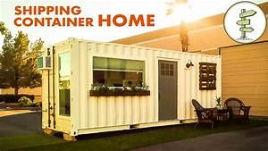 Minimalist 20ft Shipping Container Tiny House For $39K ...