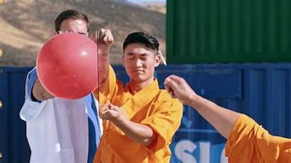 Shaolin Glass Needle Monk Through Pane Threw