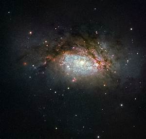 Hubble views a galactic mega-merger