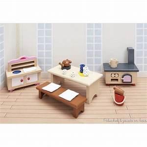 maison de poupees en bois sans meubles ni accessoires pour With location de meubles et accessoires