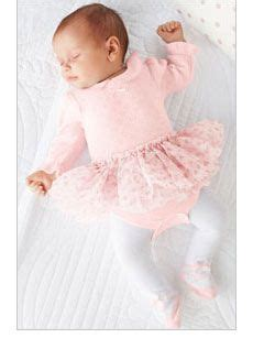 ballerina baby girly pink baby kids fashion childrens