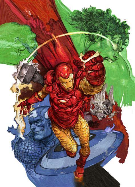 marvel announces  invincible iron man comic ign