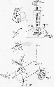 Campbell Hausfeld Hl700201 Parts Diagram For Air