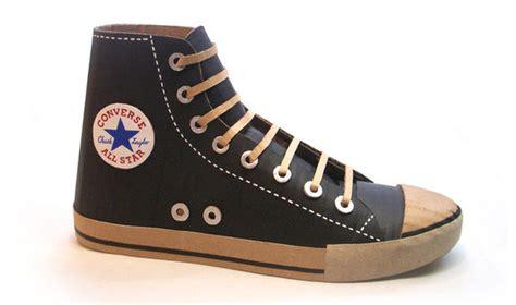 iconic cardboard kicks cardboard shoe