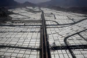 Saudi Arabia Hajj Tent Cities