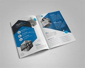 business bi fold brochure bundle 2 in 1 by generousart With bi fold pamphlet
