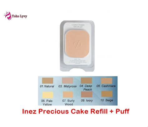 Harga Bedak Padat Inez Gold jual inez precious powdery cake refill inez refill bedak