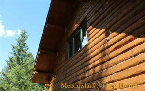 cottonwood log lodge meadowlark log homes
