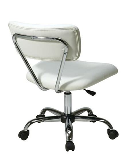 Task Chair Walmart Canada by Office Products Vista Task White Vinyl Office Chair