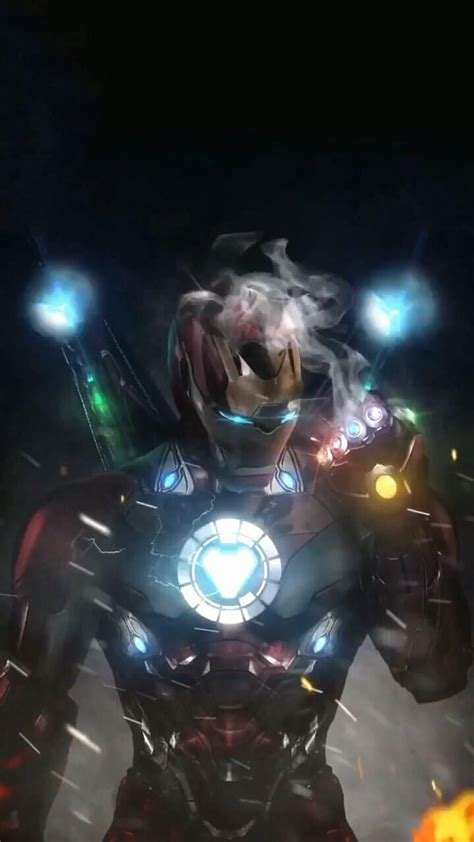 iron man  infinity gauntlet background marvel