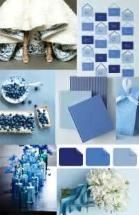 Shades of Blue Wedding Color Ideas
