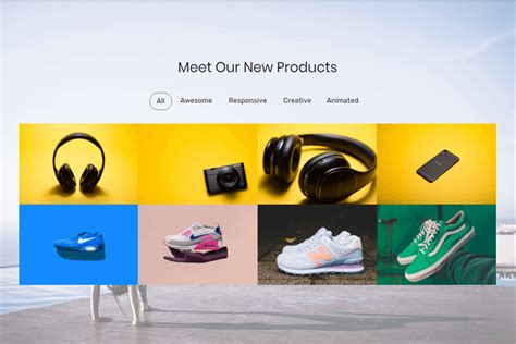 ecommerce template mobirise social ecommerce website template