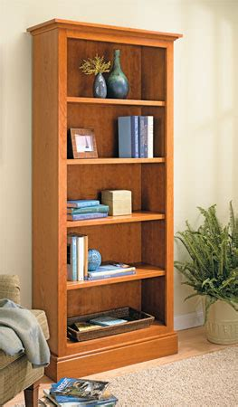 Woodworking Plans Bookcase by Classic Bookcase Woodsmith Plans