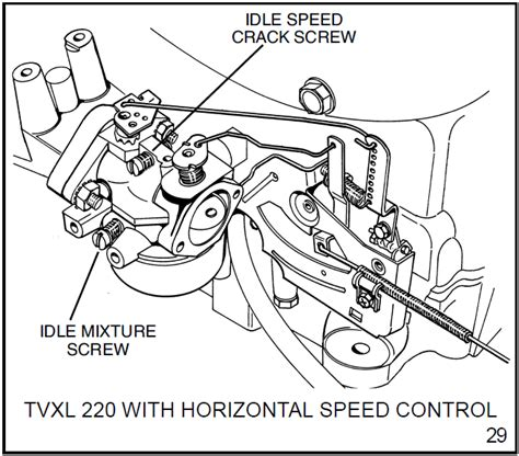 Murray Mower Carburetor Diagram by I Just Replaced A Carb On A 1989 Toro 8 25 Lawn