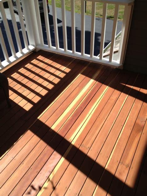 refinishing  redwood deck paint talk professional