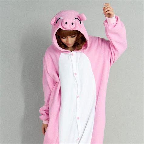 piano pour cuisine kigurumi cochon costume onesie porc thermique s m l xl