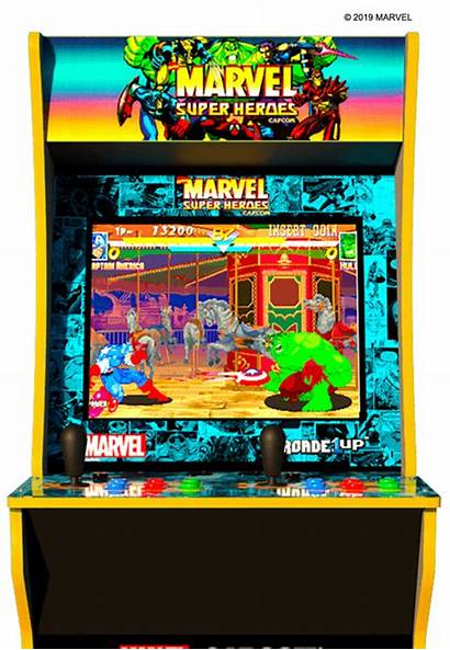 Marvel Arcade Arcade1up Games Cabinet Wars Star