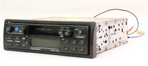 blaupunkt pueblo cr vintage tape deck player car radio