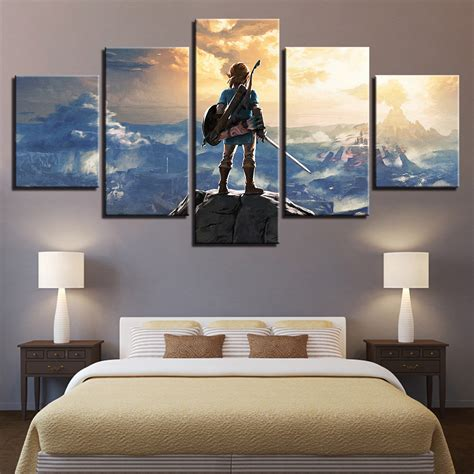 home decor artwork canvas print  panel  legend