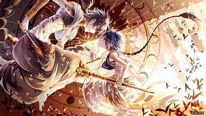 Magi Anime Magic Labyrinth Aladdin Mythology Illustration