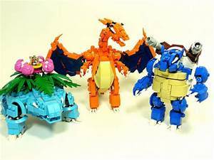 Robot Lego Pokemon are the coolest things we've ever seen ...