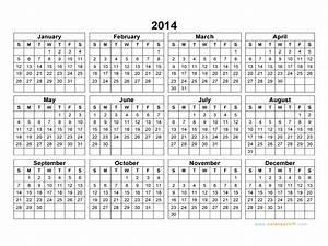 Print A Blank Calendar 2014 Calendar Blank Printable Calendar Template In Pdf