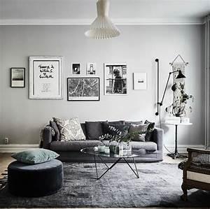 deco salon gris 88 super idees pleines de charme With salon avec parquet gris