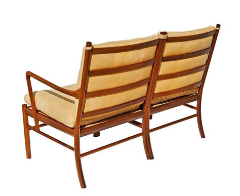 colonial settee quot colonial quot settee by ole wanscher for sale at 1stdibs