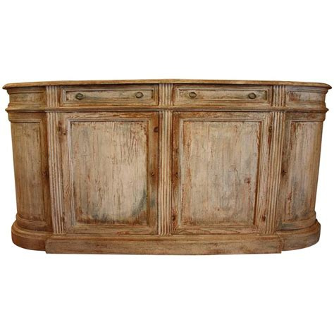 Painted Credenza by Painted Pine Italian Buffet Or Credenza At 1stdibs