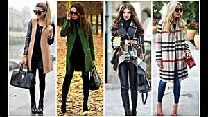 Trends Winter 2017 : fall winter coat trends lookbook youtube ~ Buech-reservation.com Haus und Dekorationen