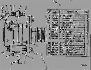 3y1325 Charging Alternator - Track-type Loader Caterpillar 951b