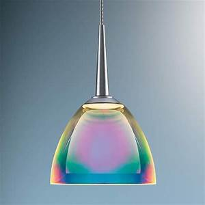A Multi Colored Glass Light Shows Rainbows Of Light Ultra