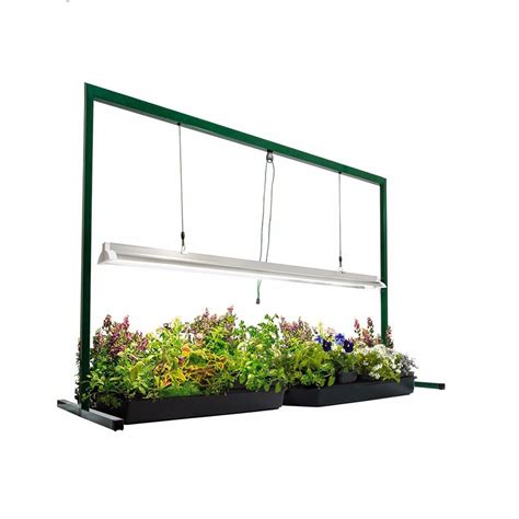 grow ls for indoor plants 4ft grow light stand edl t5 54w fluorescent indoor plant