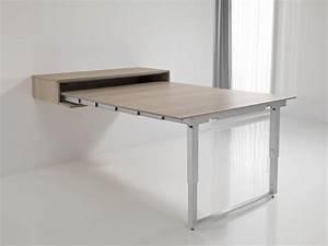 Table Murale Cuisine : meuble de cuisine avec table escamotable 6 id233es de la cat233gorie table murale rabattable ~ Teatrodelosmanantiales.com Idées de Décoration