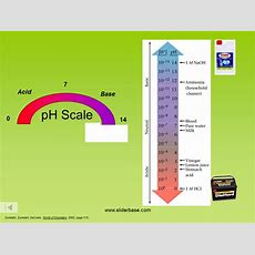 Ph Scale And Calculations  Presentation Chemistry