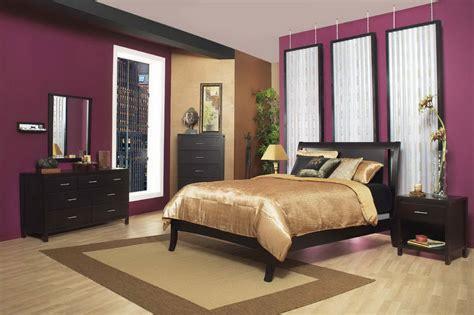 bedroom interior design purple and brown decosee